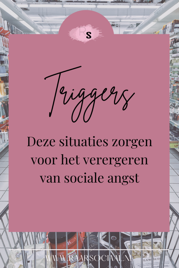 23 sociale angst triggers