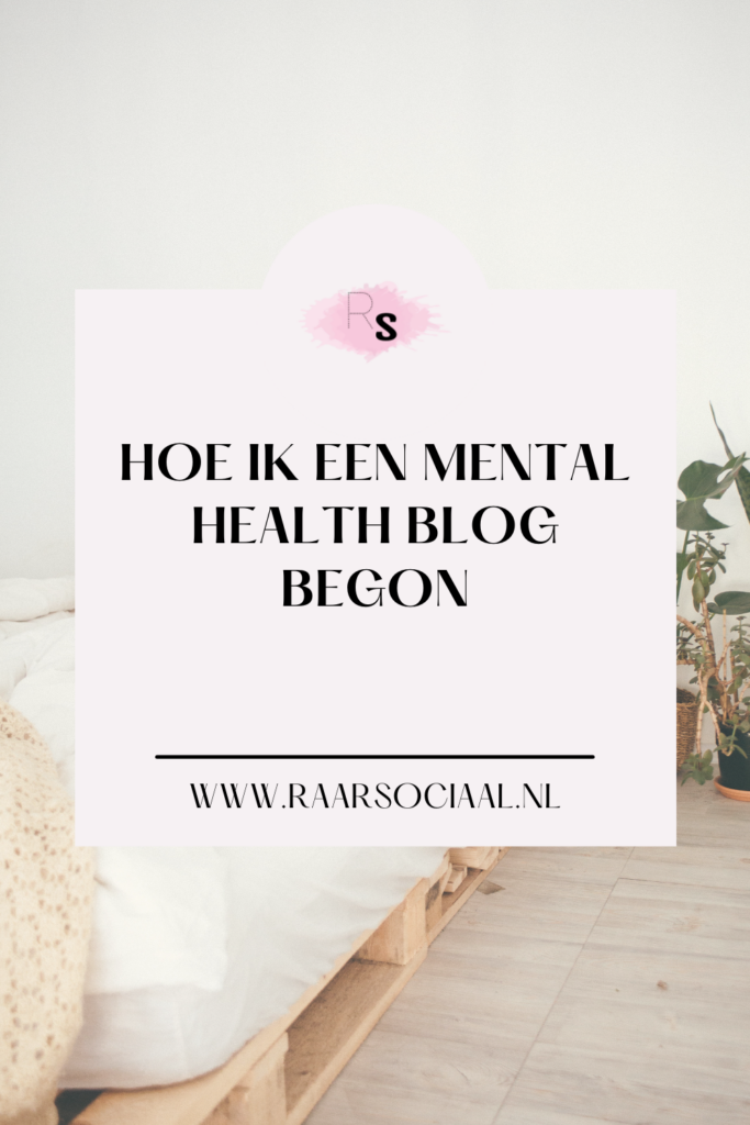 hoe ik mijn blog begon