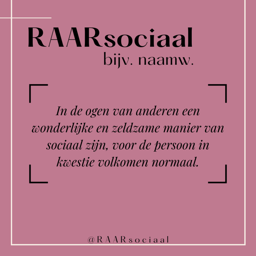 RAARsociaal