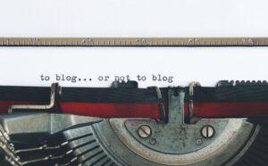 Hoe ik een blog begon