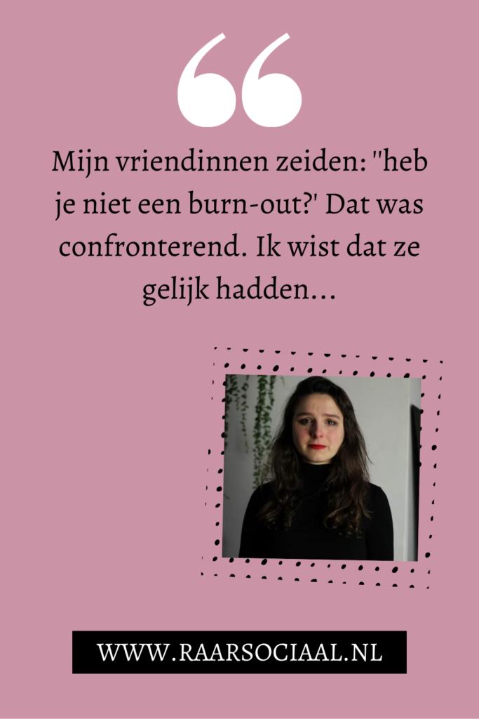 gastblog hoe is het om een burnout te hebben