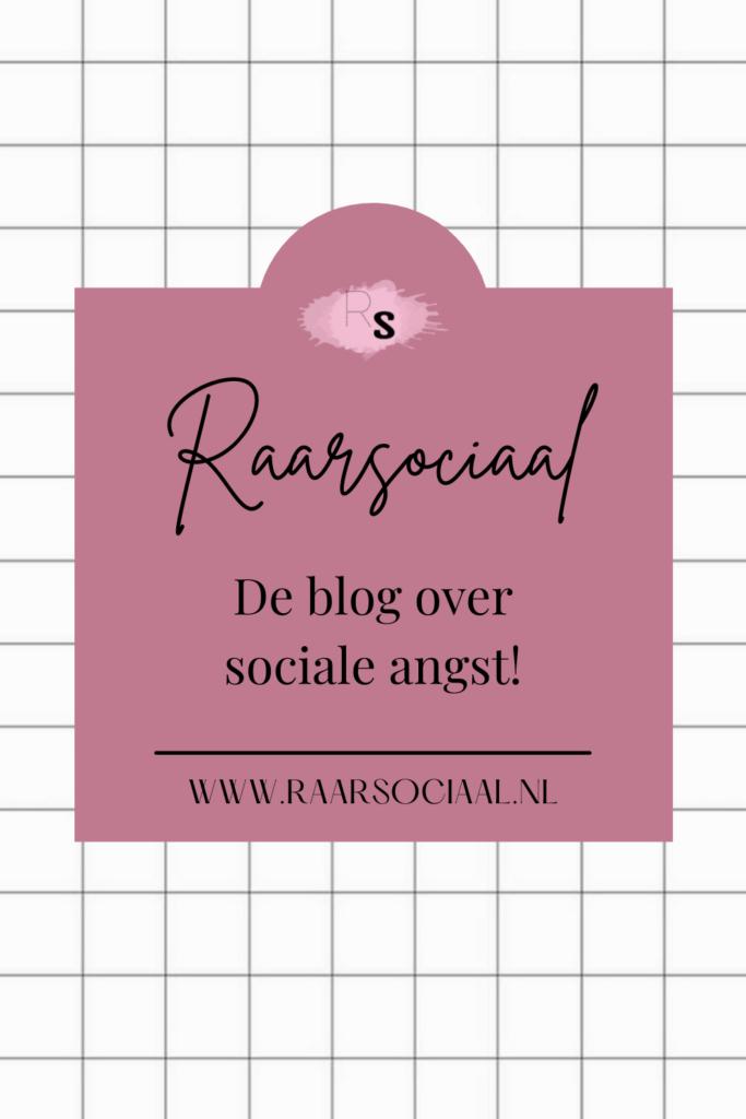 raarsociaal de blog over sociale angst