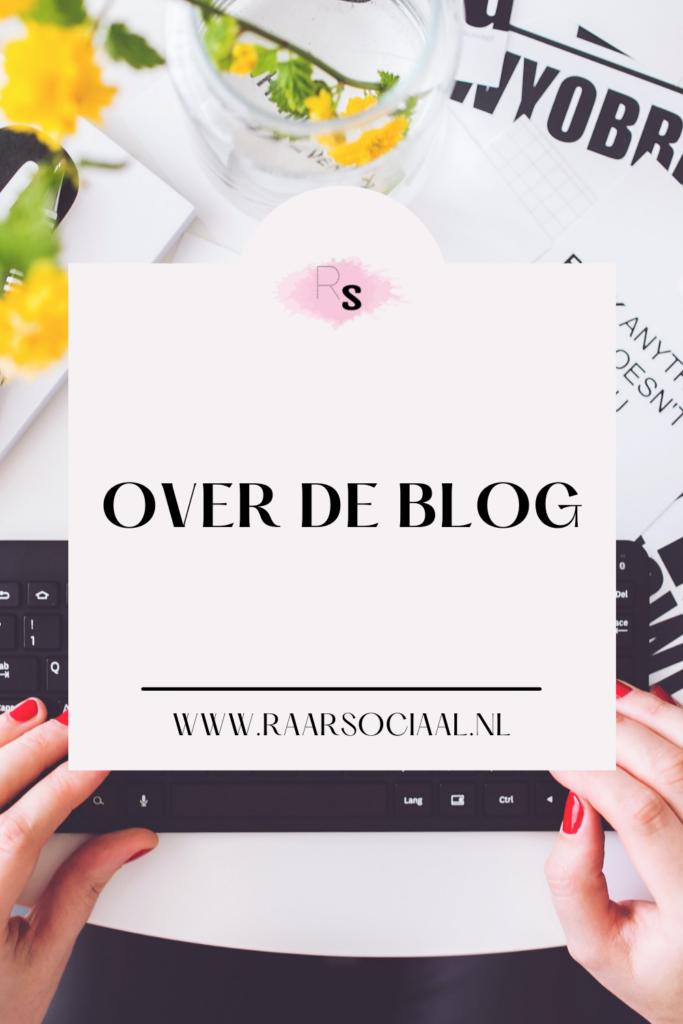 over de blog