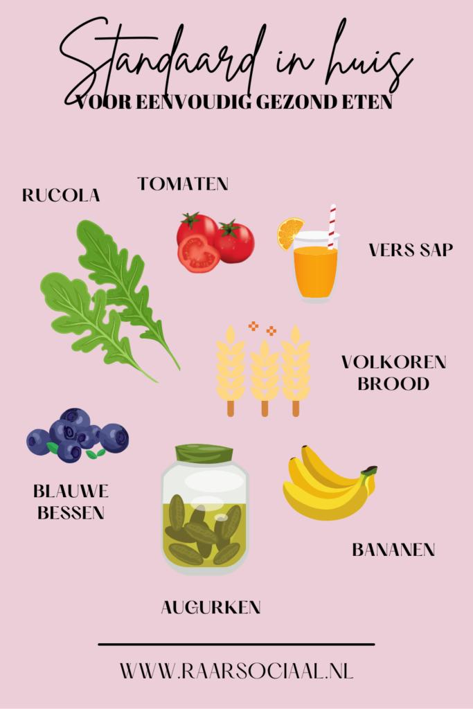 tips om gezond eten eenvoudiger te maken