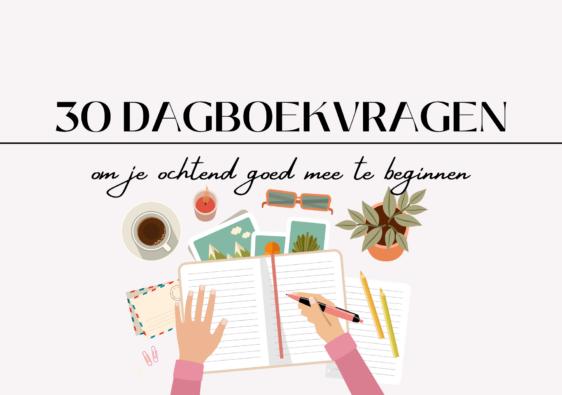 30 dagboekvragen om je ochtend mee te beginnen